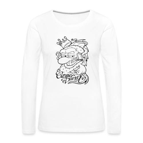 Carpe Diem - Comics Design - T-shirt manches longues Premium Femme