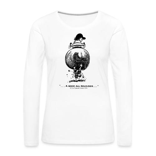 PonyGalopp Thelwell Cartoon - Women's Premium Longsleeve Shirt