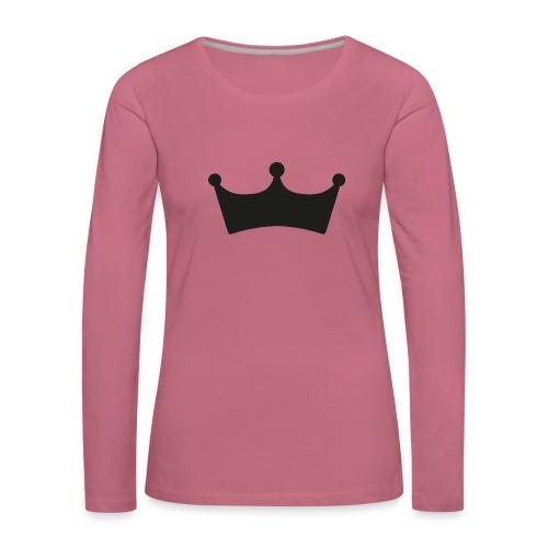 JewelFC Kroon - Vrouwen Premium shirt met lange mouwen