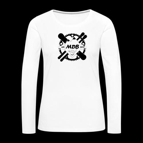 Madabe Logo Shirt - Frauen Premium Langarmshirt