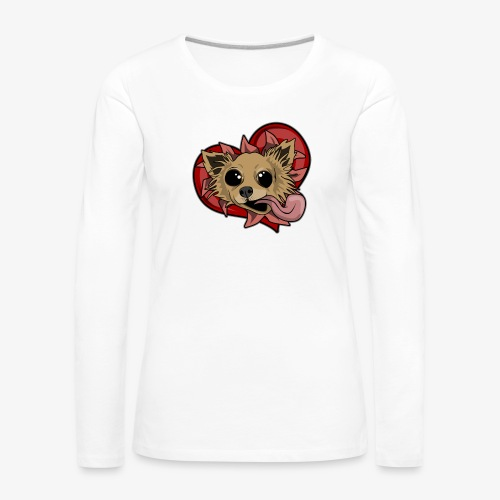 Engla - Långärmad premium-T-shirt dam