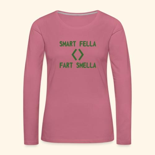 Smart fella - Maglietta Premium a manica lunga da donna