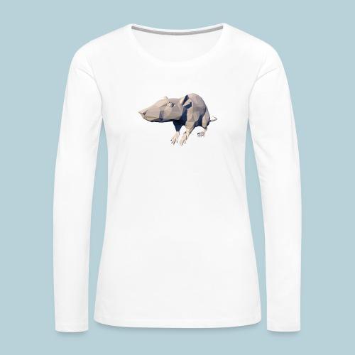 RATWORKS Poly Rat Large - Women's Premium Longsleeve Shirt