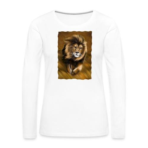 Il vento della savana - Maglietta Premium a manica lunga da donna