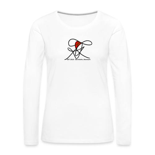 Bornholm Tee - Dame premium T-shirt med lange ærmer