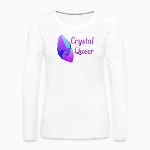 Crystal Queer - Women's Premium Longsleeve Shirt
