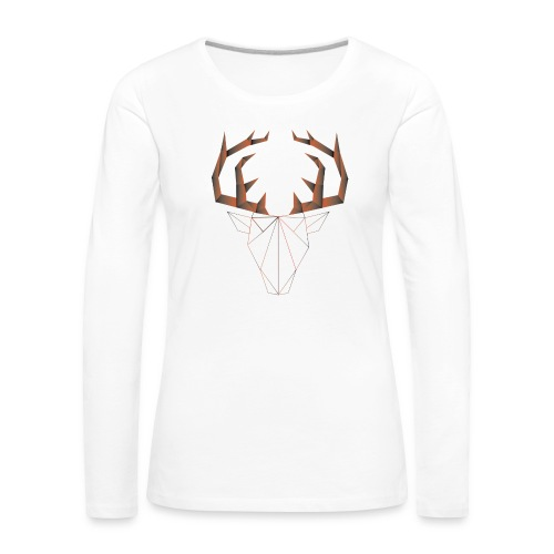 LOW ANIMALS POLY - T-shirt manches longues Premium Femme
