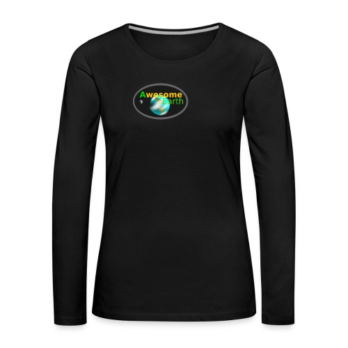 awesome earth - Women's Premium Longsleeve Shirt