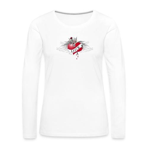 Love Hurts 4- Liebe verletzt - Frauen Premium Langarmshirt