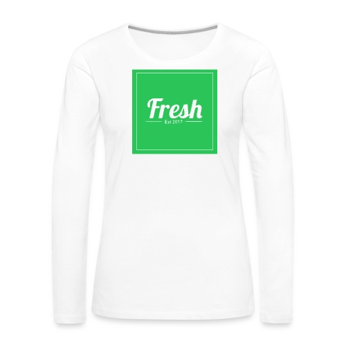Green square - Women's Premium Longsleeve Shirt