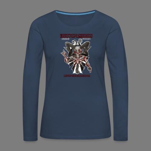 legion_line_up_final_ - Vrouwen Premium shirt met lange mouwen