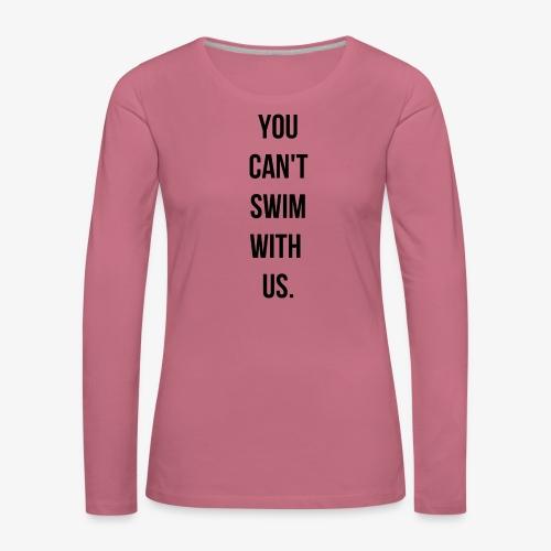 swim - T-shirt manches longues Premium Femme