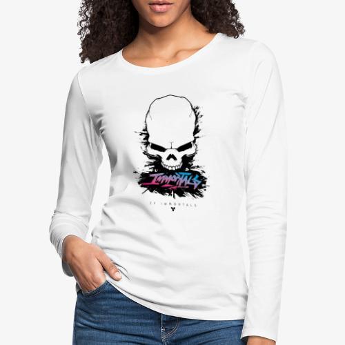 ZF Immortals Skull - Women's Premium Longsleeve Shirt
