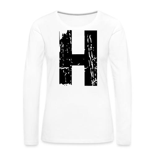 h_28_days_later - Frauen Premium Langarmshirt