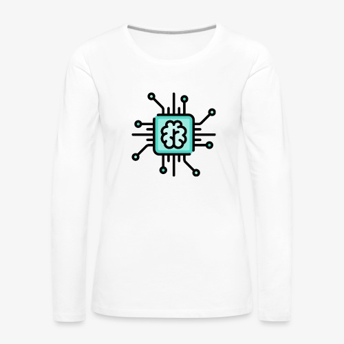 Brain chip - Women's Premium Longsleeve Shirt