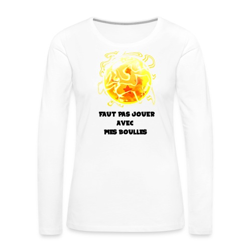 T shirt DBZ - T-shirt manches longues Premium Femme