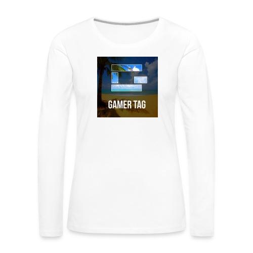 none - T-shirt manches longues Premium Femme