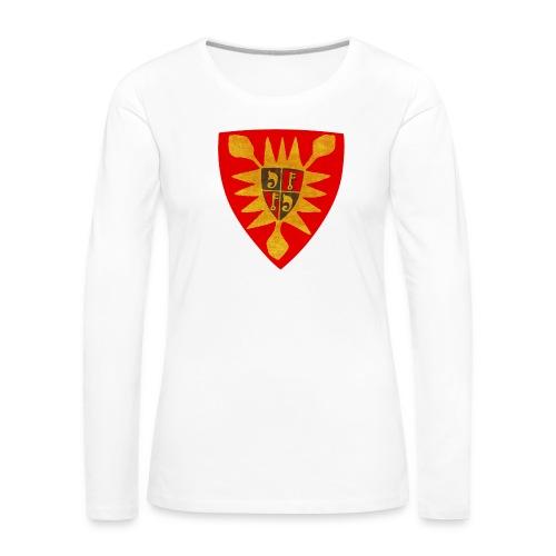 Exten Wappen Tasse - Frauen Premium Langarmshirt