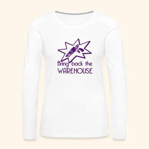 Bring Back the Warehouse Warehouse 13 Shirts - Women's Premium Longsleeve Shirt