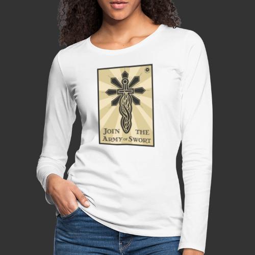 Join the army jpg - Women's Premium Longsleeve Shirt