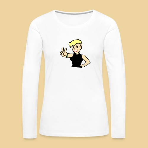 Ms Undercut - Frauen Premium Langarmshirt