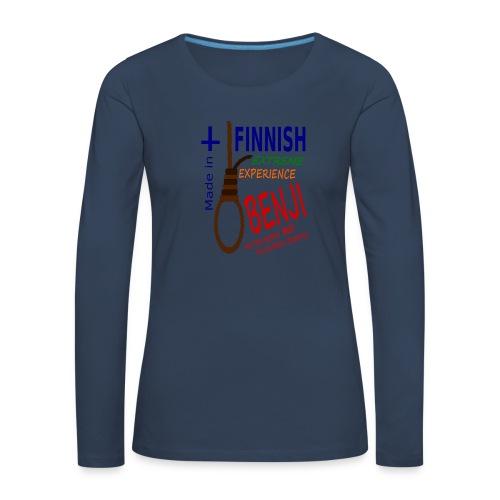 FINNISH-BENJI - Women's Premium Longsleeve Shirt