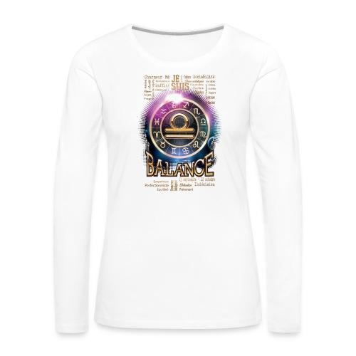 BALANCE - T-shirt manches longues Premium Femme