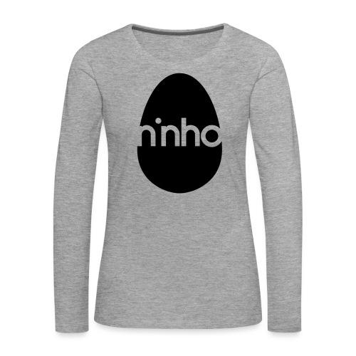 Ninho - Maglietta Premium a manica lunga da donna