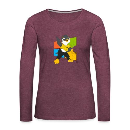 Cassééé - T-shirt manches longues Premium Femme