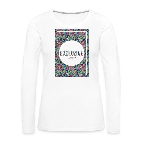 Colour_Design Excluzive - Women's Premium Longsleeve Shirt