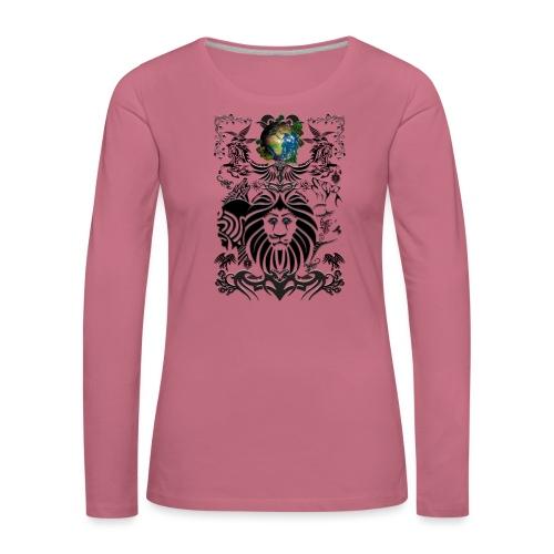 Mother EARTH NatureContest by T-shirt chic et choc - T-shirt manches longues Premium Femme