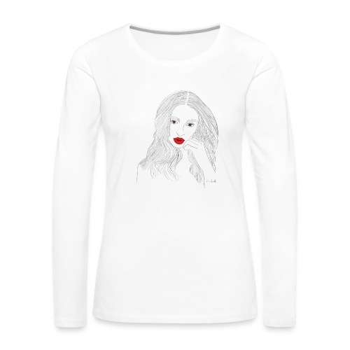 emily - Maglietta Premium a manica lunga da donna