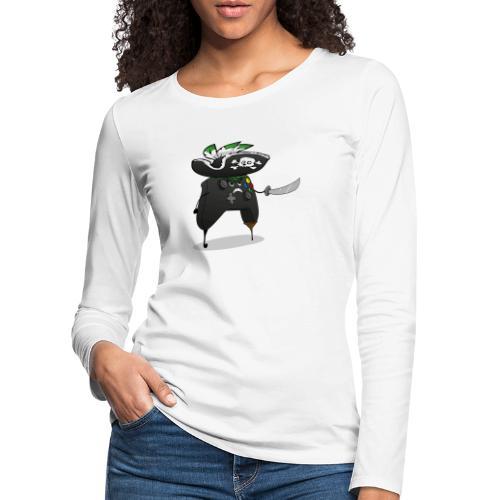 Pirate Xmanette - T-shirt manches longues Premium Femme