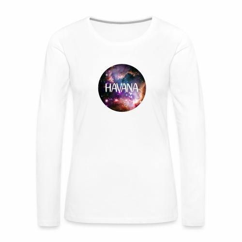 HavanaKosmos - Frauen Premium Langarmshirt