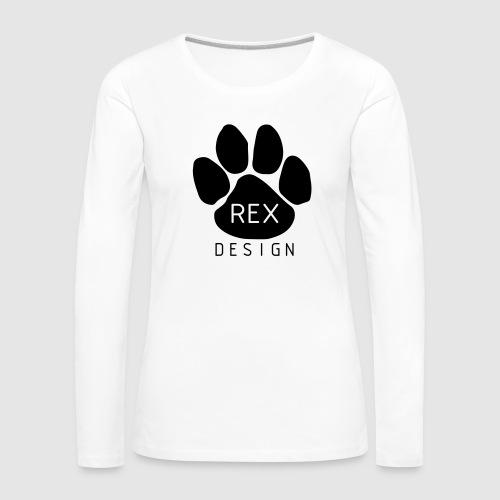 Rex Design - Women's Premium Longsleeve Shirt