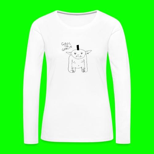 Grol S / T - Women's Premium Longsleeve Shirt