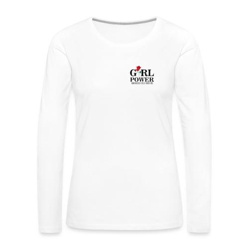 Girl power - Maglietta Premium a manica lunga da donna