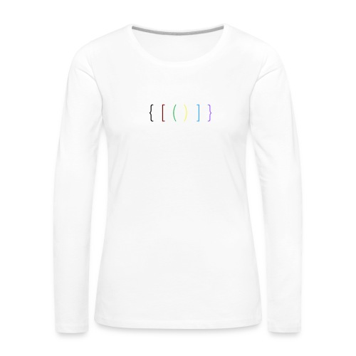 The Brackets - Women's Premium Longsleeve Shirt