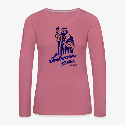 krugNovA2 gif - Frauen Premium Langarmshirt