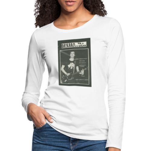 Svart Dr Krall - Långärmad premium-T-shirt dam