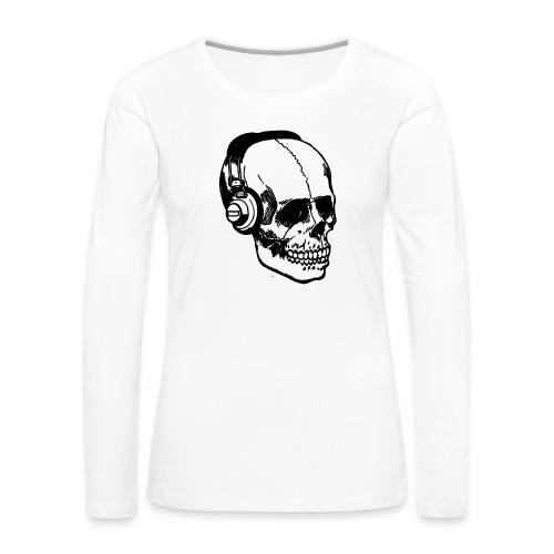 lydbog_6 - Dame premium T-shirt med lange ærmer