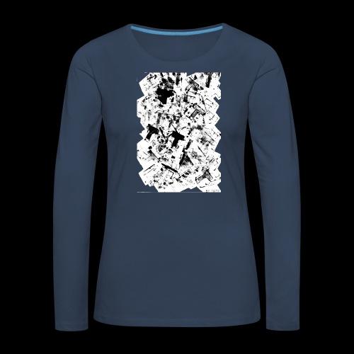 T BY TAiTO - Naisten premium pitkähihainen t-paita
