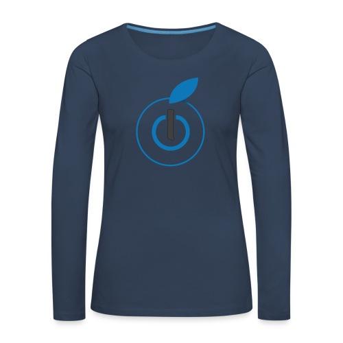 Logo AZ - Maglietta Premium a manica lunga da donna
