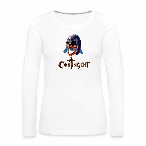Contignent Logo - Women's Premium Longsleeve Shirt