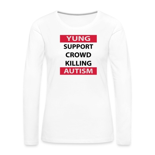Crowdkill - Vrouwen Premium shirt met lange mouwen