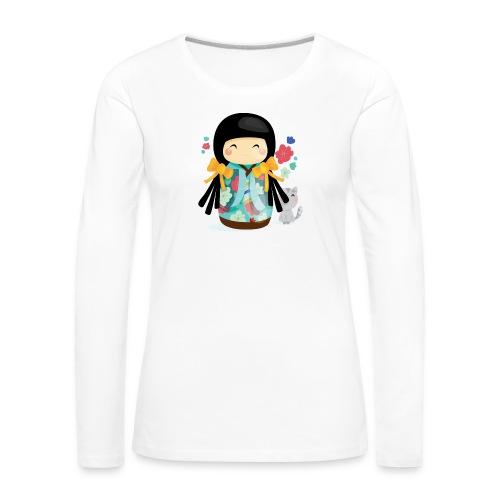 1 - T-shirt manches longues Premium Femme