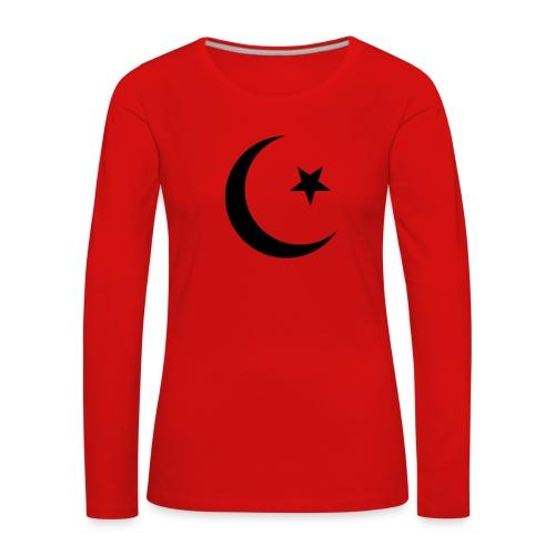islam-logo - Women's Premium Longsleeve Shirt