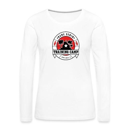 kame senin camp - Women's Premium Longsleeve Shirt