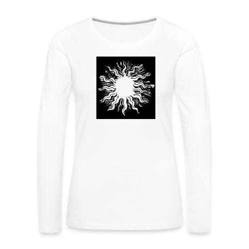 sun1 png - Women's Premium Longsleeve Shirt