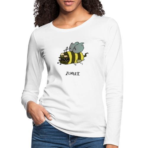 Zombee - Frauen Premium Langarmshirt